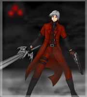 Dante and his shotgun by dante-clon