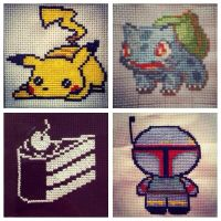A few mini stitches by sfxbecks
