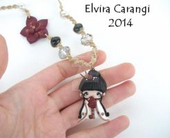 Geisha Namie necklace (available on etsy) by elvira-creations