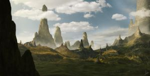Matte Painting MontanGreen by CordobezWeee
