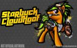 Commission: Fighting is Magic - Starbuck Cloudhoof by Groxy-Cyber-Soul