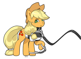 applejack points comm by choco-cocco