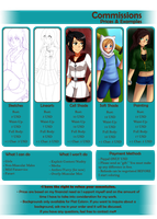 .:Commission Sheet:. - UPDATED PRICES by EriaHime