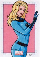 Invisible Woman MU by ElainePerna