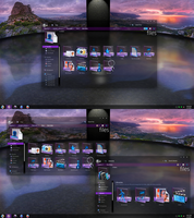 Ohmyicons! Purple Dream mod! by Fiazi