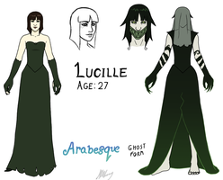 Character Design: Lucille by Arabesque91