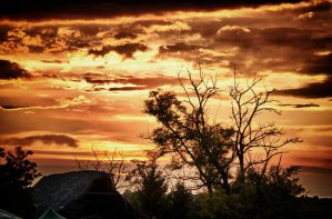 Sunset at Ozora HDR by scwl