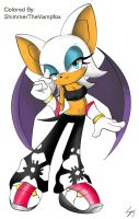 Rouge The Bat by ShimmerTheVampfox