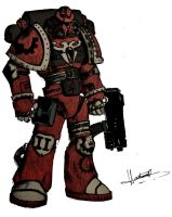 Space Marine by Lh0o