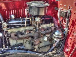 Old Engine by Vonburgherstein