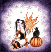Pumpkin Fairy by dark777fairy