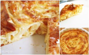 Banitsa Bulgarian cheese pie by camnhungth