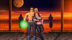Johnny Cage and Sonya Blade by CJRus