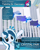 [ Event ] Crystal Fair 2014 Poster by Yunguy1