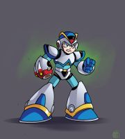 Mega Man X Light Armor by MegaRyan104