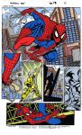 Spiderman Painted comics by Wildmiguel
