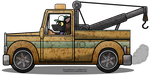 Tow Truck by LordDominic