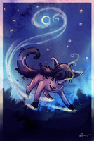 Mightyena point commission by Psunna