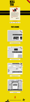 Kill Bill inspired web page by TriVector