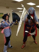 AnimeNEXT 2015-Sheena and Magus by Shinto-Cetra