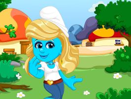 Smurfette Casual Look by Smurfette123