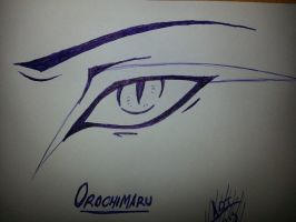 Orochimaru's Eye by Arxielle