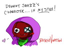 Deviant-Spazz by baskervwatson