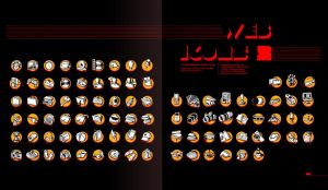 """Web Icons """"Orange Pack"""" by ScriptKiddy"""