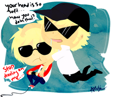 Bro, Stop Being Inappropriate by The-EverLasting-Ash