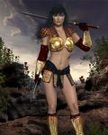 Lucia  - in her battle skin... (COMING SOON!) by FWArt