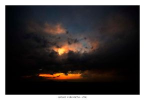 sunset variations: one by Pixla