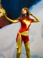 Dark Phoenix cosplay, Cyberfest 2015 by Shiera13