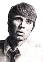 Alex Kapranos (scan) by jennykehl