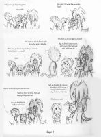 Out in Town: Page 1 by Frankyding90