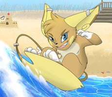 Surf's Up, breh! by SassCannon