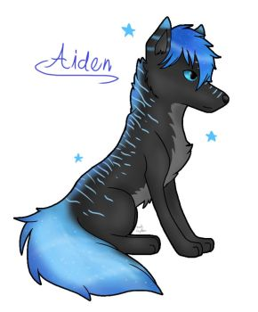 Aiden doggo by SethTheCreator