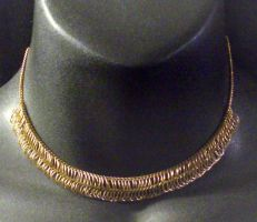 Gold Chainmail Chain 2 by MorganCrone