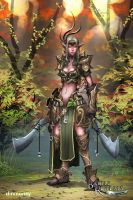 BRL: Elder Hero Female by dinmoney