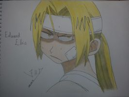 Edward Elric by StarsMoonWolf-Lover