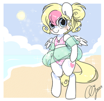 Beach Time by InkieHeart