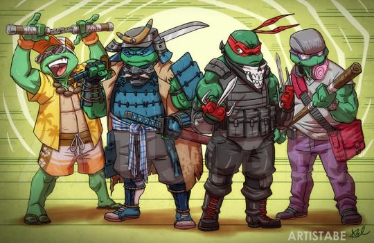 Ninja Turtles: Into Their Own by ArtistAbe