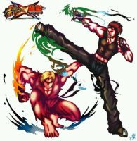 Street Fighter X Tekken by oranges038