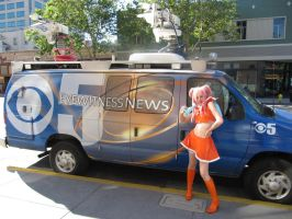 Fanime 2010 - Space Channel 5 by Cosphotos