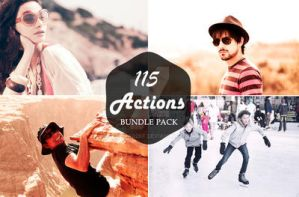 115 Photoshop Action Bundle by sfahmad2kf