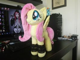 day 3.2 - Fluttershy approves by verolesh