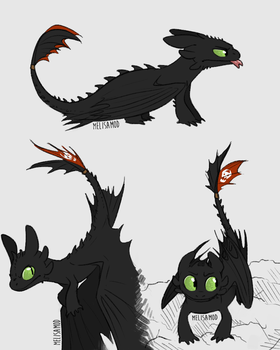 more toothless by Wolf-Spirit99