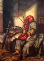 Lobster man by GlobeyM7