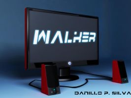 Monitor and sound speakers by magrozo