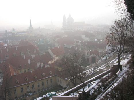 Prague Winter by Maralily