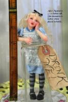 Alice Wonderland art doll by SutherlandArt